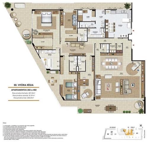 apartamento corcovado 23 - jardim botânico  - 98