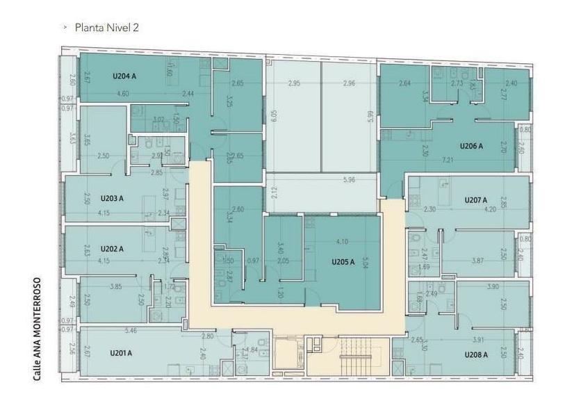 apartamento - cordón - penthouse, frente, terraza de 23 metros