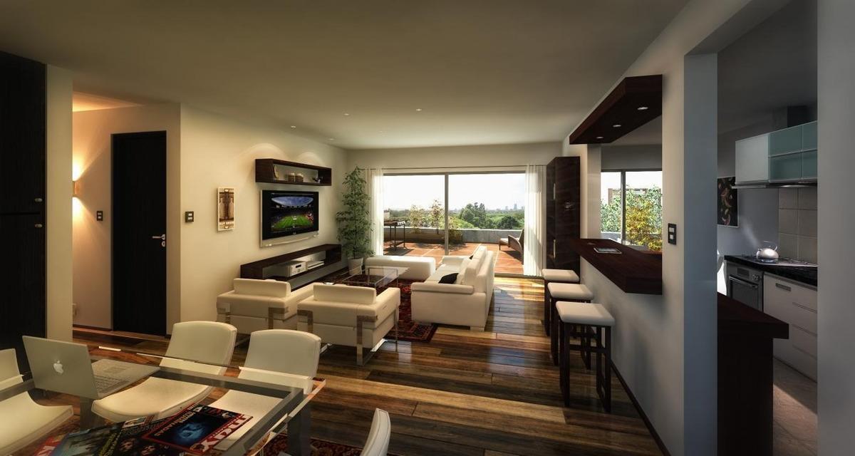 apartamento cordon venta 1 dormitorio colonia y eduardo acevedo ed. torre universita penthouse