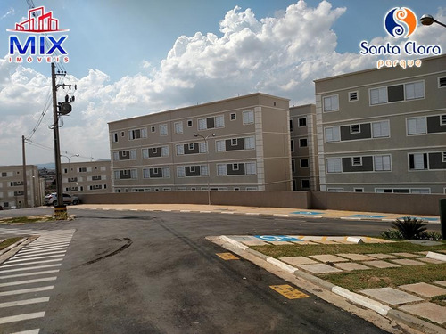 apartamento cumbica, guarulhos - residencial parque santa clara - 2 dorms, 1 vaga - ap0253