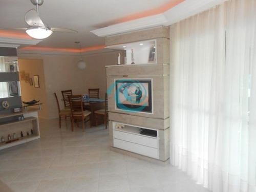 apartamento de 03 dormitórios - 900