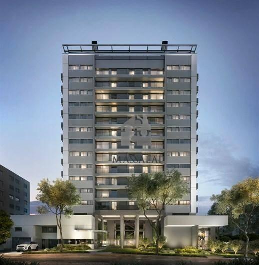 apartamento de 1 dormitório com garagem à venda, 43 m² por r$ 587.000 - auxiliadora - porto alegre/rs - ap0486