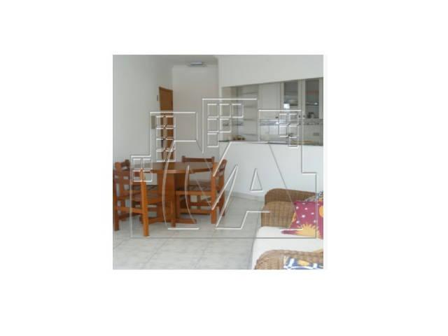 apartamento de 1 dormitório com suíte frente mar