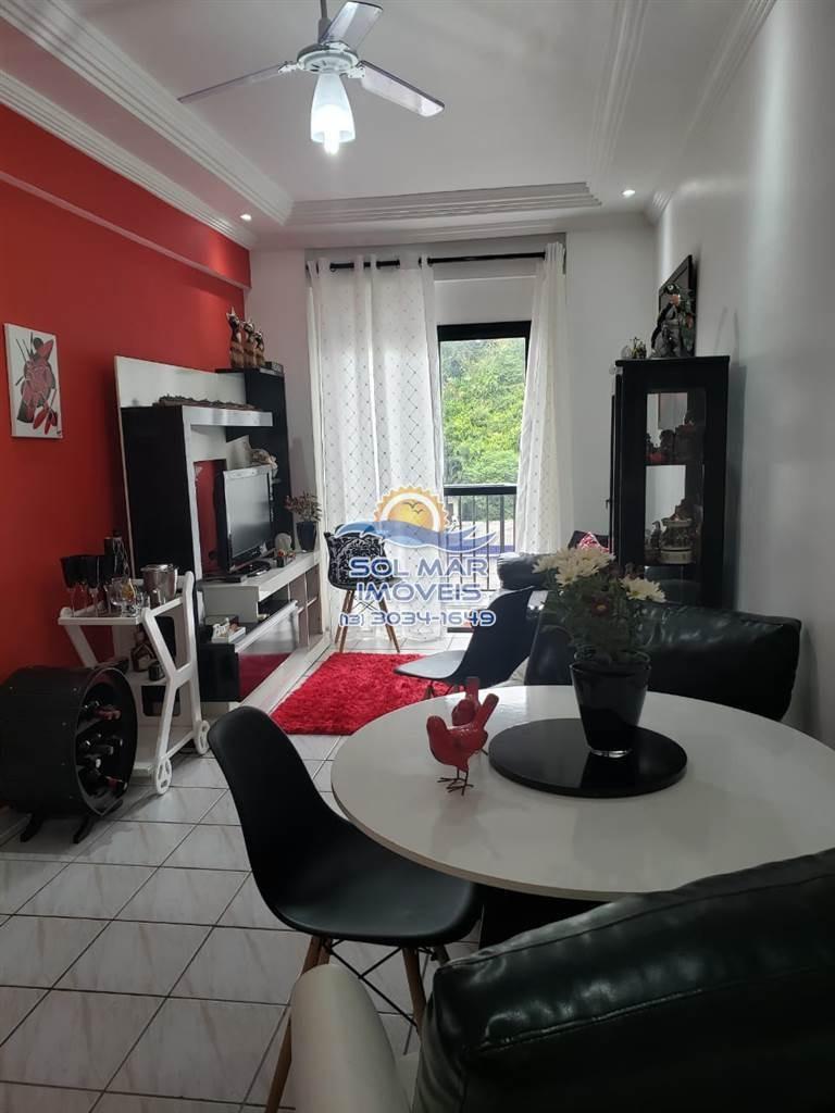 apartamento de 1 dormitório com varanda no guaruja - sm62