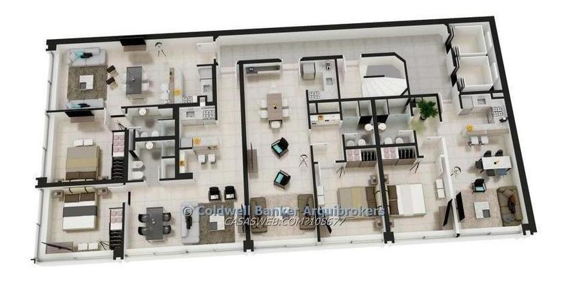 apartamento de 1 dormitorio con renta en venta en centro
