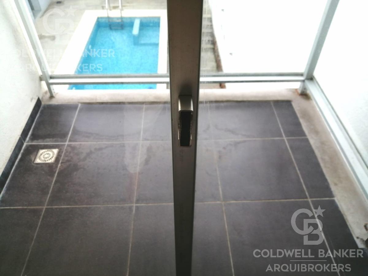 apartamento de 1 dormitorio en alquiler en pocitos con piscina y garaje opcional