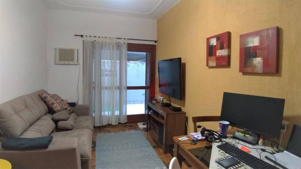 apartamento de 1 dormitório térreo com pátio à venda no bairro menino deus - porto alegre/rs - ap2538
