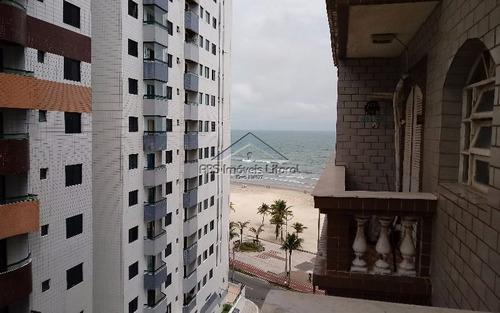 apartamento de 1 dormitório vista para o mar na ocian em praia grande