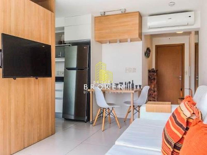 apartamento de 1 dormitorio y garaje en punta del este-ref:34