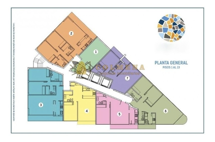 apartamento  de 1 dormitorios, 59 m2 desde 148000 dolares, fecha estimada de entrega: diciembre 2019. consulte.-ref:1290
