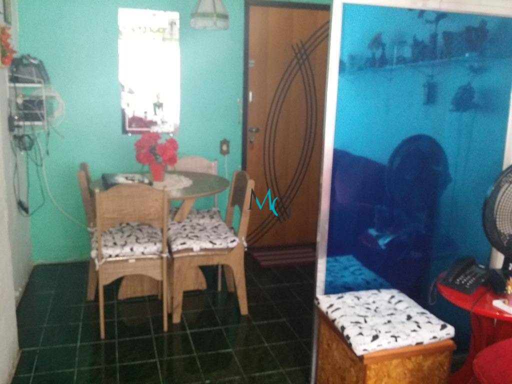 apartamento de 1 quarto, aceitando financiamento - ap0001