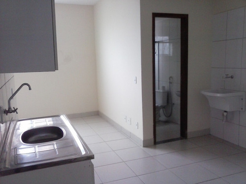 apartamento de 1 quarto com armário na cozinha - ed.buzetti