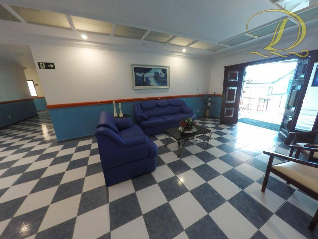 apartamento de 1 quarto grande e com sacada à venda na aviação, perto da praia!!! - ap2965