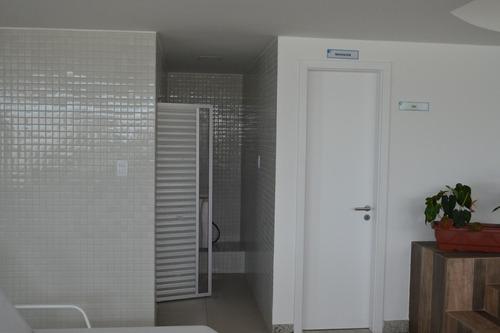 apartamento de 1 quarto, vista mar  ondina