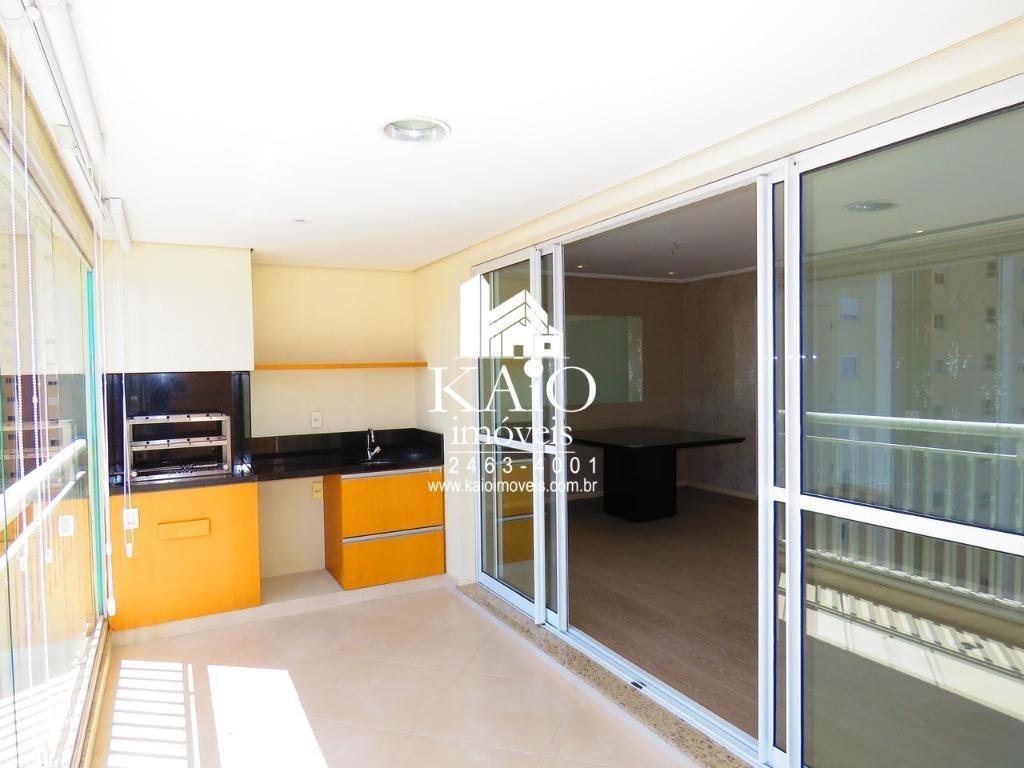 apartamento de 132m² com 3 suites varanda gourmet 2 vagas, jardim zaira - ap1026