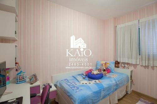 apartamento de 165m² com 3 suítes varanda gourmet 3 vagas, macedo - ap1168