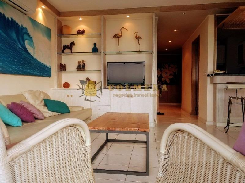 apartamento  de 2 dormitorios con una muy buena vista a la mansa y balcon.-ref:290