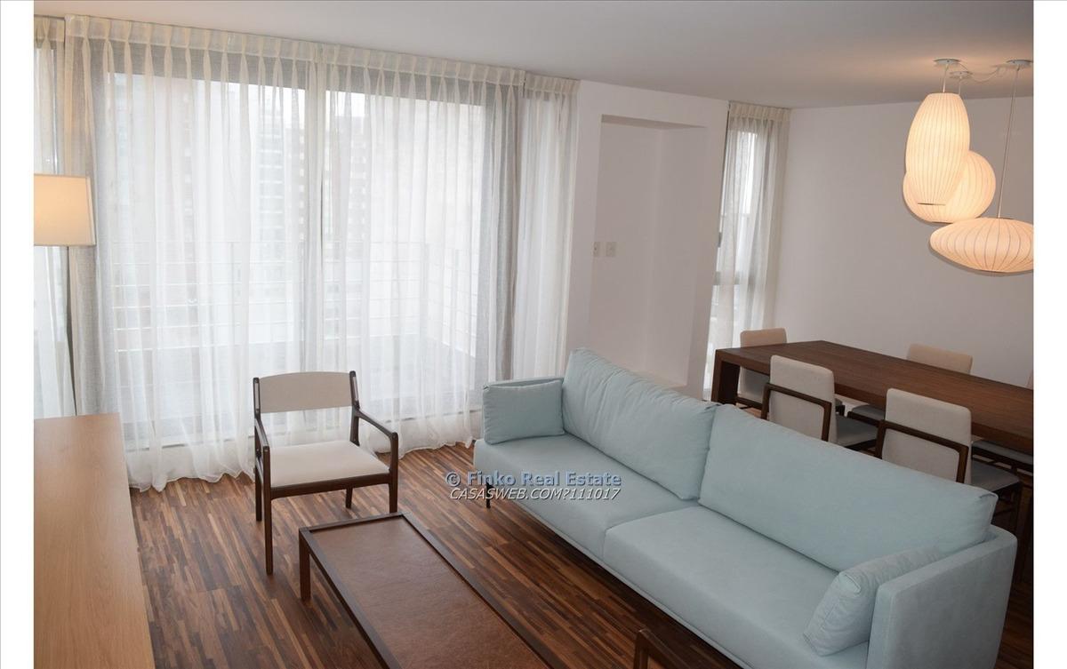 apartamento de 2 dormitorios en alquiler amoblado