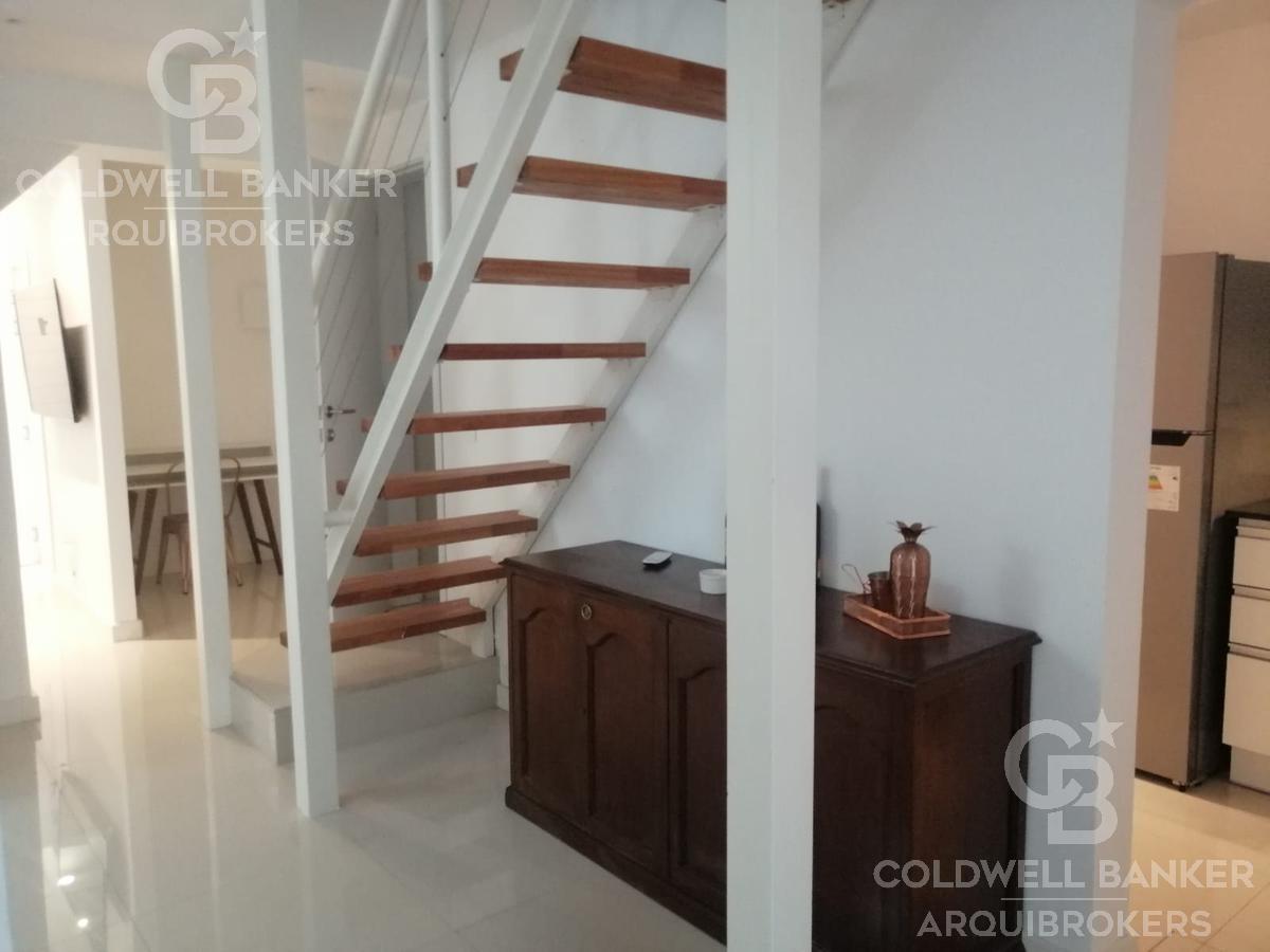 apartamento de 2 dormitorios en alquiler con muebles en pocitos