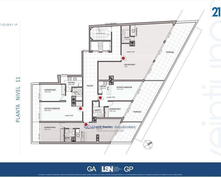 apartamento de 2 dormitorios en venta parque rodó