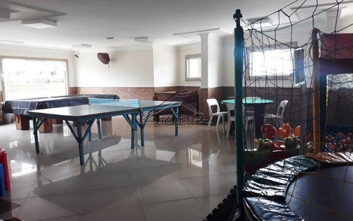 apartamento de 2 dormitórios na vila caiçara em praia grande - sp
