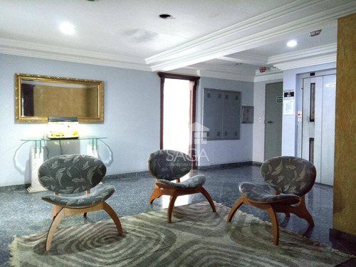 apartamento de 2 dormitórios sendo 1 suíte, piscina e vista mar, à venda, vila assunção, praia grande. - ap2326