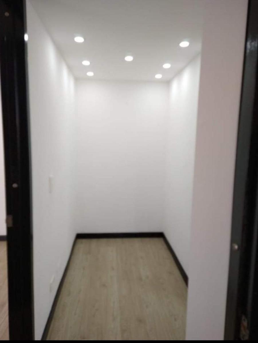 apartamento de 2 habitaciones 1 baño 1 estudio, sala, cocina