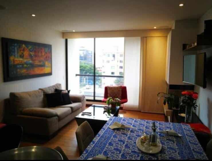 apartamento de 2 habitaciones en santa barbara