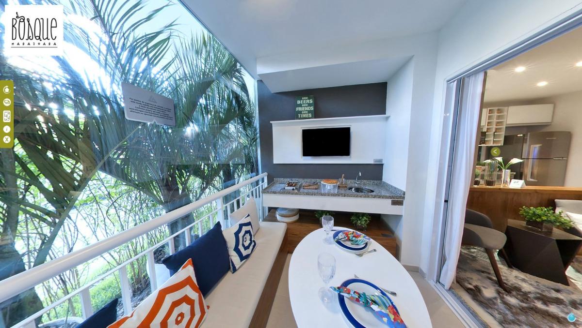 apartamento de 2 quartos, 61m² à venda interlagos 390 mil