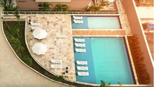 apartamento de 2 quartos e 1 banheiro,  oasis ecovida
