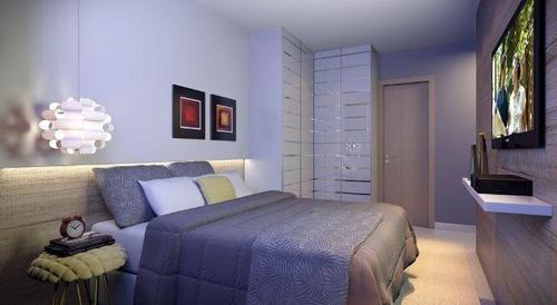 apartamento de 2 quartos no porcelanato com entrada em 60x