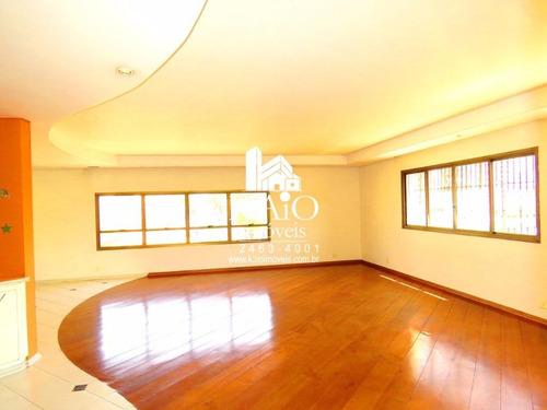 apartamento de 218m² com 3 suítes 3 vagas, centro - ap0923