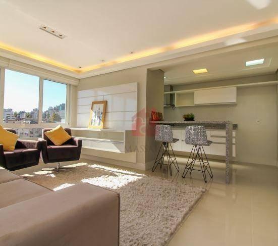 apartamento de 3 dormitórios com garagem à venda, 89 m² - petrópolis - porto alegre/rs - ap2017