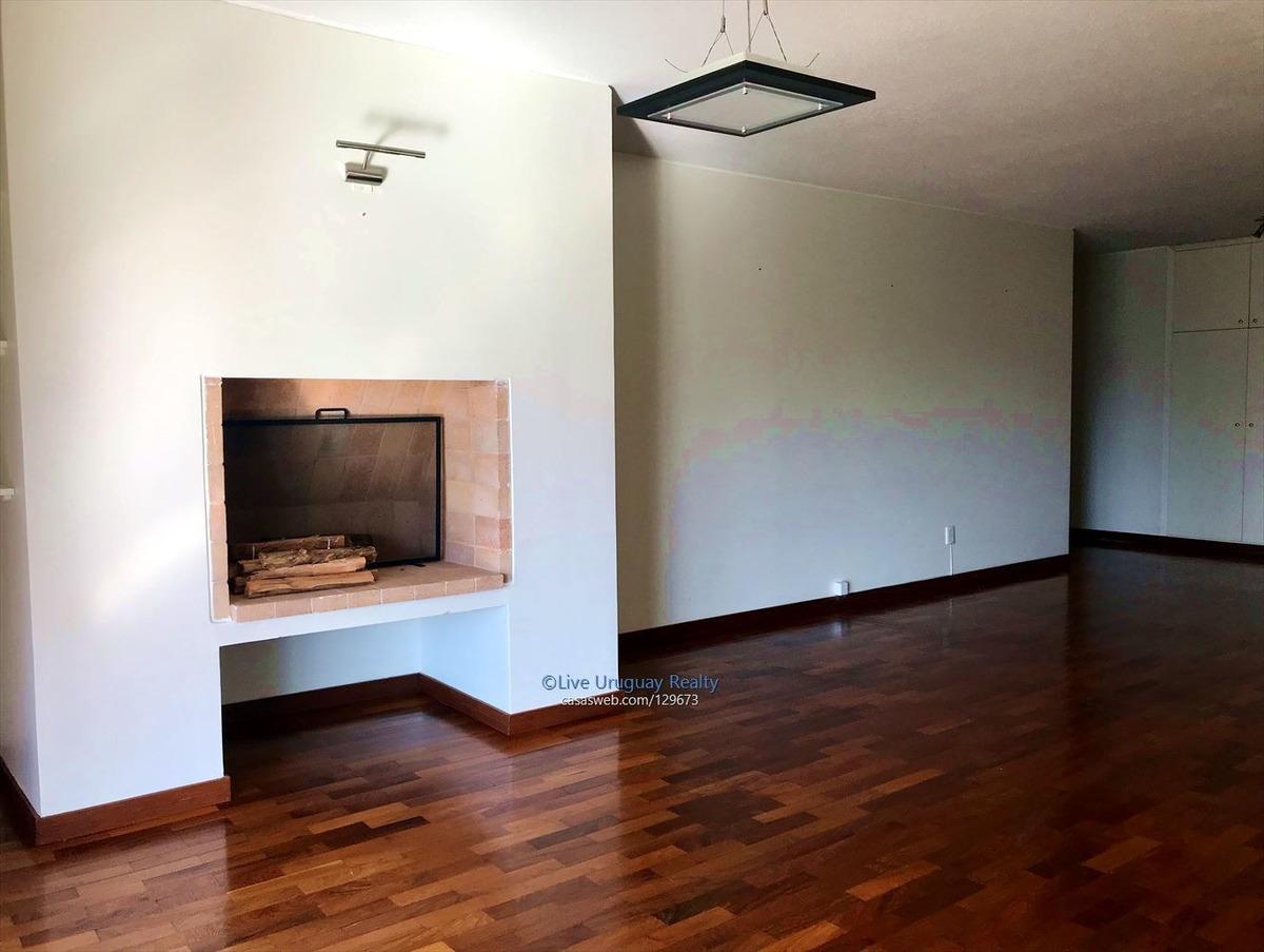 apartamento de 3 dormitorios en alquiler carrasco