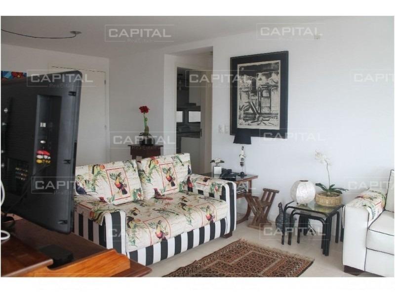 apartamento de 3 dormitorios en alquiler temporario. a pasos de la playa mansa-ref:28383