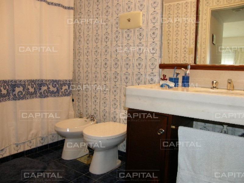 apartamento de 3 dormitorios en primera línea con vista al mar y parrillero propio-ref:26729