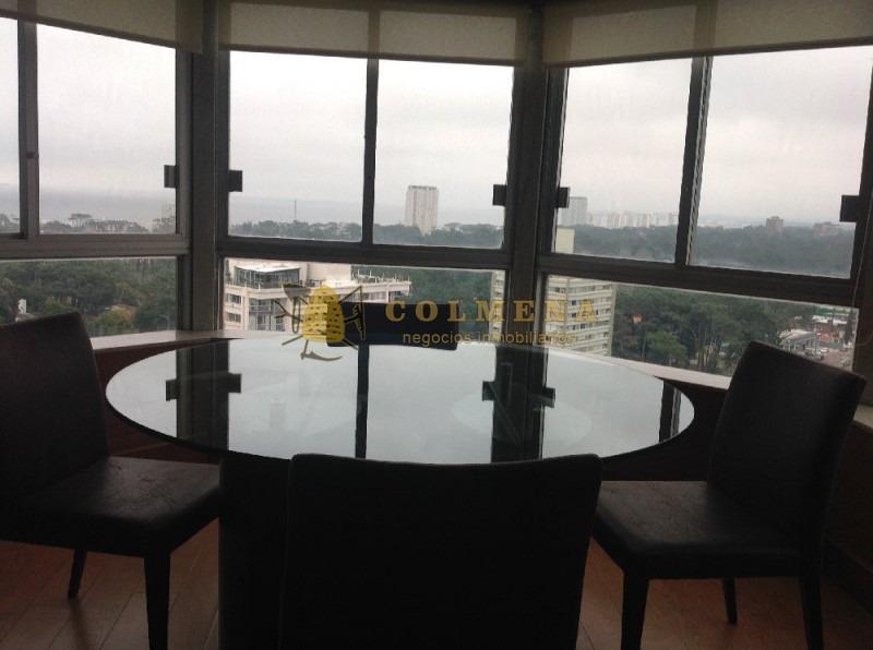 apartamento de 3 dors con excelente vista y cerca de los centros comerciales.-ref:70