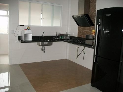 apartamento de 3 quartos com dependência. - 1118