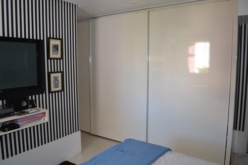 apartamento de 3 quartos, locação - cidade jardim