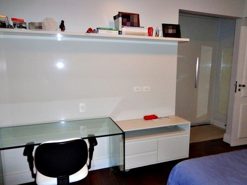 apartamento de 3 suítes, decorado, locação- itaigara