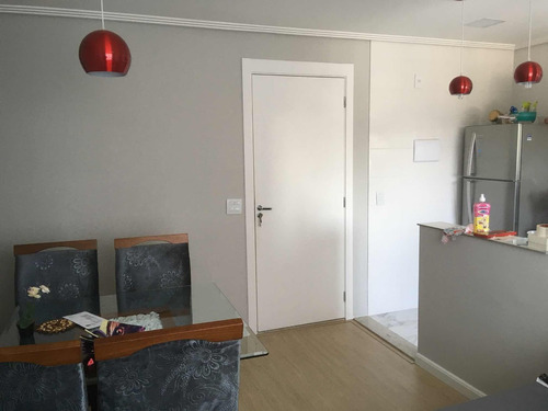 apartamento de 46m2 novinho, pronto pra morar