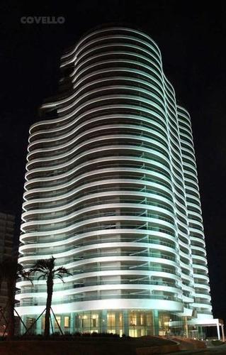 apartamento de 5 dormitorios en suite, vista al mar, torre completa, amenities