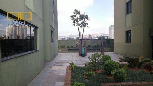 apartamento de 50 metros com 2 dormitórios e 1 vaga - centro