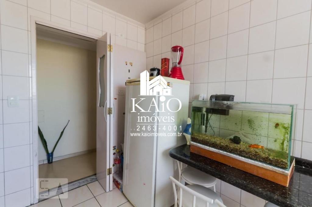apartamento de 59m² com 2 dormitórios 1 vaga, vila augusta - ap1117