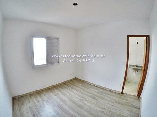 apartamento de 70m2 - 2 dorms,suíte,sacada c/ churrasqueira próx. a av. cassiano ricardo - ap1626