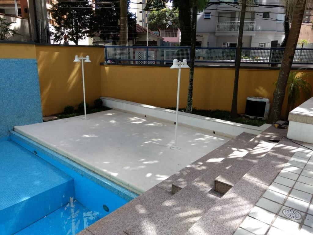 apartamento de alto padrão com 296 m² sendo 4 suítes, 4 vagas, lazer à venda, por r$ 1.800.000 - jardim - santo andré/sp - ap2007