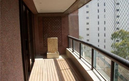 apartamento de alto padrão, localização nobre do bairro. morumbí - são paulo
