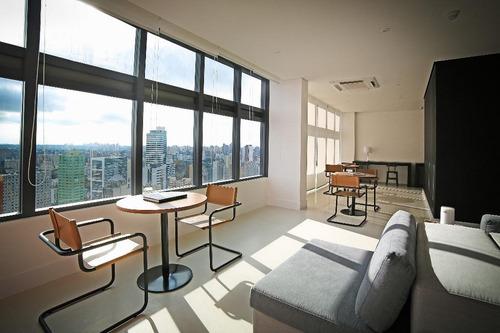 apartamento de alto padrão no batel, centro, curitiba. - ap0059