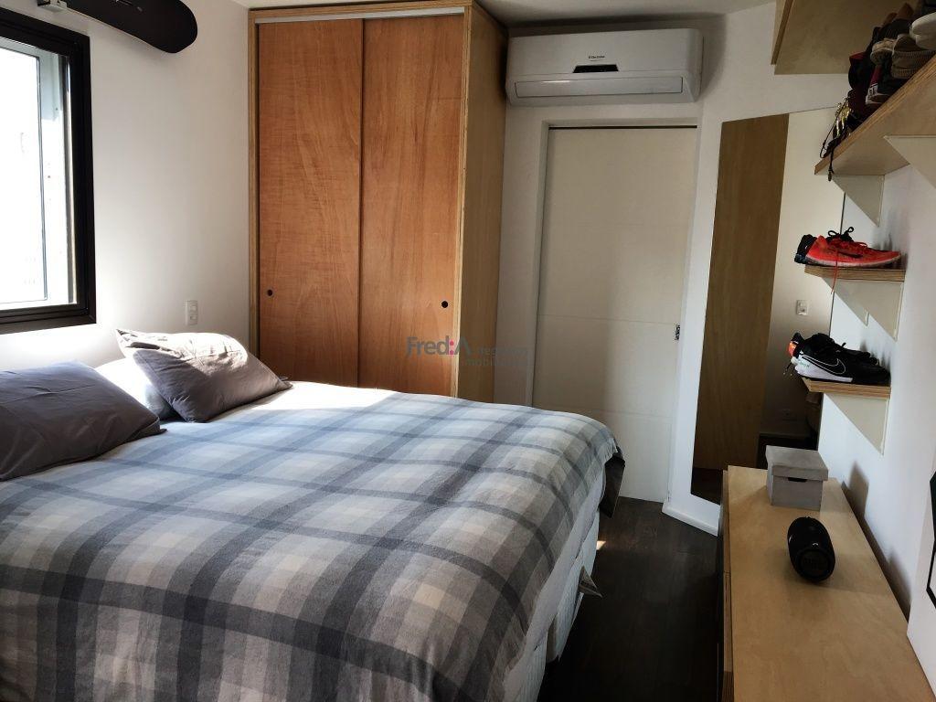 apartamento de cobertura com 80 m², 1 suíte e 2 vagas de garagem na vila olímpia. - fa2260