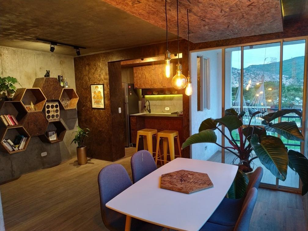 apartamento de diseño amoblado todo incluido ciudad guabinas